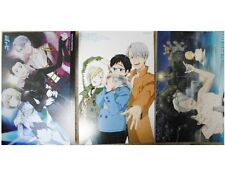 Yuri!!! on Ice Postcard set 3 Japanese Anime sexy Yuri Victor Nikiforov Yurio
