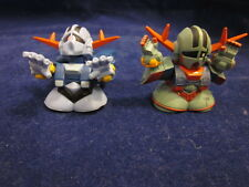 Lots 2 Gundam ZEONG mini Robot action figures cool imported from Japan