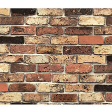 Shabby Chic Brick Wallpaper Peel Stick Wallcovering Ideas Self Adhesive Vinyl