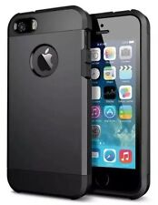 New Tough Series Shock Proof Dual Protection Case For iPhone 5 iPhone 5S Black