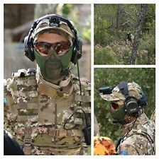 OneTigris Tactical Foldable Half Face Mask Protective Mesh Mask For Airsoft CS