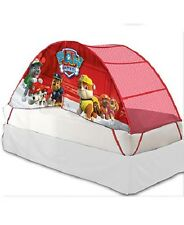 Licensed Kid's Play Tent Twin Bed Paw Patrol Marshall toy Hut Hideout Bedroom