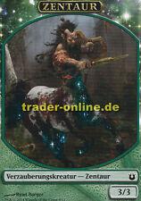 2x Spielstein - Zentaur (Token - Centaur) Born of the Gods Magic