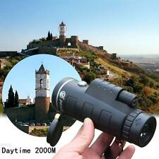 35x50 Night Vision Camping Hiking Hunting Wide Angle Monocular Telescope Hot CB