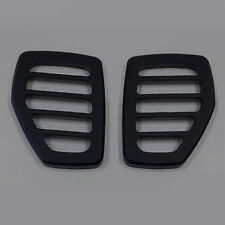 HPC Hummer H3 & H3T 06-10 Smooth Billet Black Marker Light Covers (Pair)