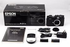 [TOP MINT in Box] Epson R-D1X Rangefinder Digital Camera Black from Japan #386