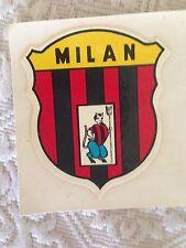 A.C. MILAN CALCIO DECALCOMANIA AD ACQUA ANNI '60 STEMMA CON DIAVOLO