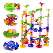 105Pcs DIY Construction Marble Race Run Maze Balls Track Building Blocks Trendy