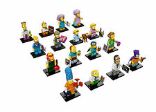Lego Simpsons Series 2 (71009) Complete Set of 16 Minifigures