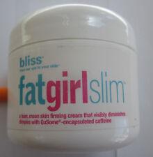 Bliss Fat Girl Slim Skin Firming Cream, 2.0 oz, 60 mL, Sealed, New