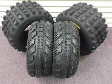 22x7-10 & 20x10-9 AMBUSH ATV TIRES SET 4  Yamaha Raptor 660 700 700R