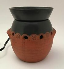 Scentsy Sonora Full Size Wax Tart Warmer Southwestern Distressed Terra Cotta