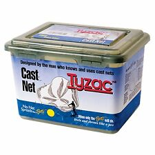 Bett 3.5-Feet Tyzac Nylon Cast Net (1/4 Inch Mesh) (4N35-I) Packaged Vinyl Box..