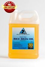 RICE BRAN OIL ORGANIC by H&B Oils Center UNREFINED COLD PRESSED PURE 7 LB