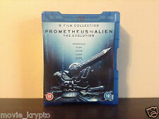 Prometheus to Alien:The Evolution Box Set + AvP 1 & 2 + Predator 1-3 (Blu-ray)