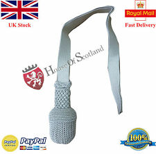 NEW ROYAL OFFICER SWORD KNOT SILVER/BRITISH ARMY SWORD KNOT/OFFICER SWORD KNOT