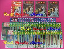 72 fascicoli KEN GUERRIERO 1/72 serie completa ANIME JAPAN HOBBY WORK no dvd vhs