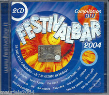 FESTIVALBAR 2004 BLU *6 (2004) 2CD NUOVO Dido. Don't leave home. Eamon. Fuck it