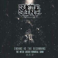 SUICIDE SILENCE ENDING IS THE BEGINNING MITCH LUCKER MEMORIAL SHOW CD DVD METAL