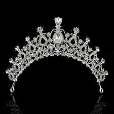 Crown CombCrystal Bridal Wedding Rhinestone Hair Headband  Tiara Prom Pageant