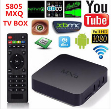 Android 4.4 MXQ TV Box Quad Core 8G Amlogic S805 4K Smart TV Box XBMC
