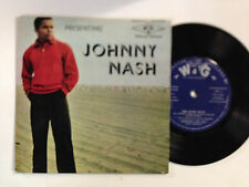 Johnny Nash The Quiet Hour EXc OZ L&G Label 7`` EP Record