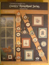 Country Homestead Series Cross Stitch Patterns Book 16 Angie Austin Newton
