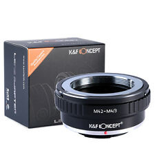 M42 Mount Lens to Micro 4/3 M4/3 Mount Adapter For Olympus Panasonic M42-M4/3