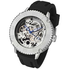 Rougois Skeleton Automatic Mechanical Watch 3285M-M-2