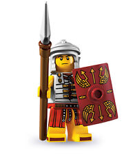 LEGO 8827 MINIFIGURES SERIES 6 ROMAN SOLDIER MINIFIG NEW SEALED SPARTAN FRIENDS