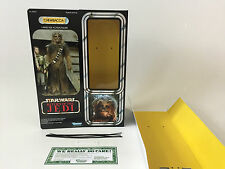 "custom vintage star wars return of the jedi 12""  chewbacca box + inserts"