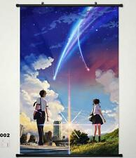 Your Name. taki Miyamizu Mitsuha Home Decor Poster Wall Scroll New Year Gift 002