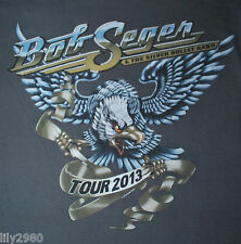 Bob Seger and the Silver Bullet Band Rock Roll Never Forgets Tour 2013 Tshirt M