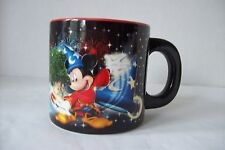 DISNEY Four Parks One World Tinkerbell and Mickey Mouse as Wizard Coffee Mug