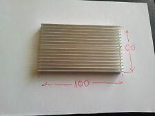 100x60x10mm Aluminum heatsink radiator for chip LED VGA RAM GPU computer 's