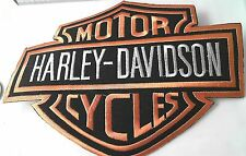 Harley Davidson logotipo Patch Patch motor Cycles aufbügelbar 17,0 x 13,5