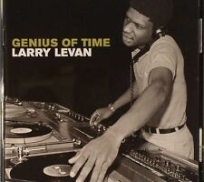 "LARRY LEVAN "" GENIUS OF TIME "" SEALED UK DOUBLE CD 22 TRACKS"