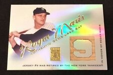 2001 Topps Tribute Roger Maris RB-RM Game Used Bat