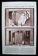 ADRIAN SAMOILOFF THEATRE STAGE LIGHTING COLOUR EFFECTS SCENE CHANGING 1pp 1921