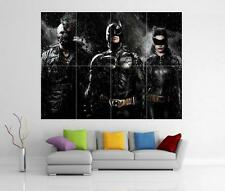 THE DARK KNIGHT RISES BATMAN BANE CATWOMAN GIANT WALL ART PRINT POSTER H35