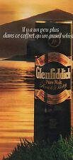 Publicité Advertising 1983  WHISKY Glenfiddich Pure Malt ...