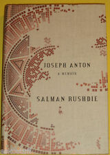 Joseph Anton Memoir 2012 Salman Rushdie Biography NEW Great Photos! Nice See!