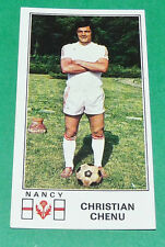 N°169 CHRISTIAN CHENU AS NANCY LORRAINE ASNL PANINI FOOTBALL 77 1976-1977
