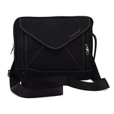 "Envelope 10"" Tablet Shoulder Bag Pouch Carrying Case For iPad 1 2 3 4 Air Black"