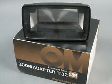 Olympus OM Electronic Flash ZOOM ADAPTER T32, Top+OVP!