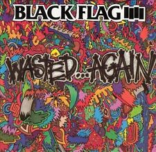 Wasted...Again by Black Flag (Punk) (Cassette, May-1993, SST)