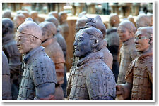 Chinese Terra Cotta Warriors - China Dynasty Social Studies - NEW POSTER