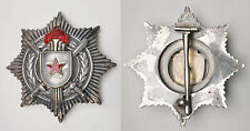 XC.91) YUGOSLAVIA Order for Military Merit with Silver Swords / 5 torches / 3rd
