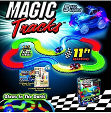 Magic Tracks The Amazing Racetrack that Can Bend, Flex Glow As Seen on TV Gift