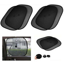 2Pcs Car Sun Shade Protector Blind Side Rear Sunshade Block Window Screen Shades